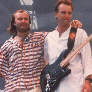 Phil Collins & Sting